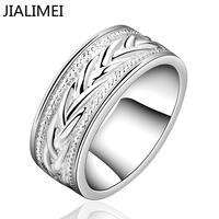 Time-limited Anillos Rings Wedding Bands Free Shipping 925 Ring Fashion Sterling Silver Jewelry Chirstmas Gift Inlaid Belt R650