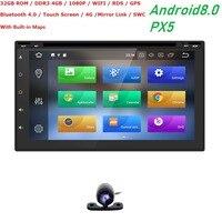 7 2Din Android8.0 8 OctaCore 4 + 32 DVD мультимедиа воспроизведения видео коснитесь Планшетные ПК для Nissan gps навигации радио стерео видео плеер