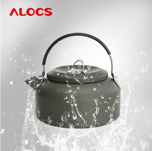 ALOCS 0.8L High Quality Outdoor Camping Hiking Kettle Coffee Pot Teapot Super light Weight 100G Small Size