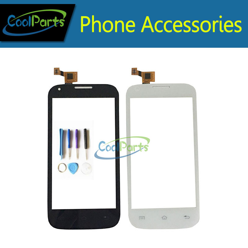 1PC/Lot High Quality 4.5 For Fly IQ 4406 ERA Nano 6 IQ4406 Touch Screen Digitizer Panel Glass With Tool Black&White Color