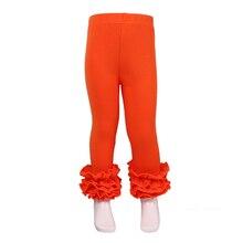 8f2af6c7109e72 MUDBALA Boutique Children Clothing Kids Ruffle Pants Toddler Girls Triple  Ruffled Icing Leggings Cotton Trousers(