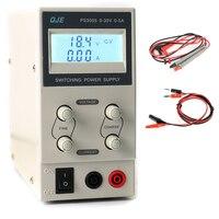 QJE PS3005 30V 5A Professional LCD Digital Adjustable DC Power Supply Laboratory Switching Power Supply 220V-230V US/EU/AU Plug