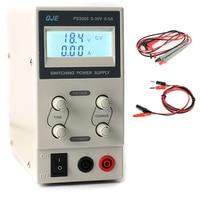 QJE PS3005 30V 5A Professional LCD Digital Adjustable DC Power Supply Laboratory Switching Power Supply 220V 230V US/EU/AU Plug