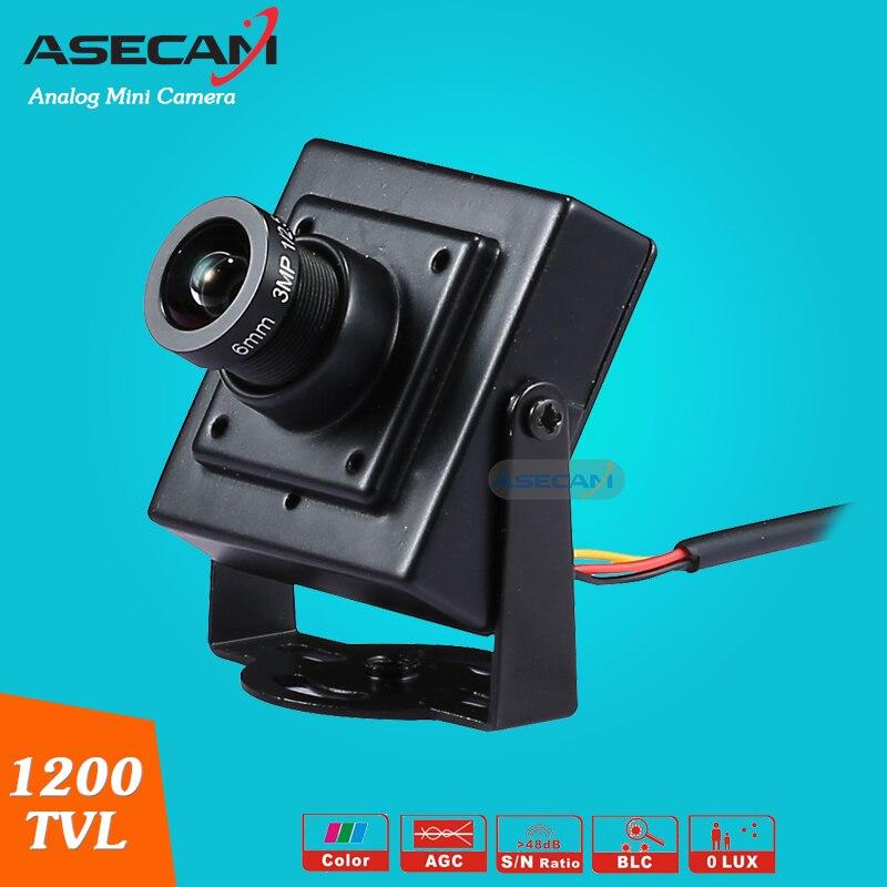 imágenes para Alta resolución HD Video vigilancia Micro Cam Sony 960H CCD Effio 1200TVL seguridad pequeño Mini CCTV cámara envío gratis