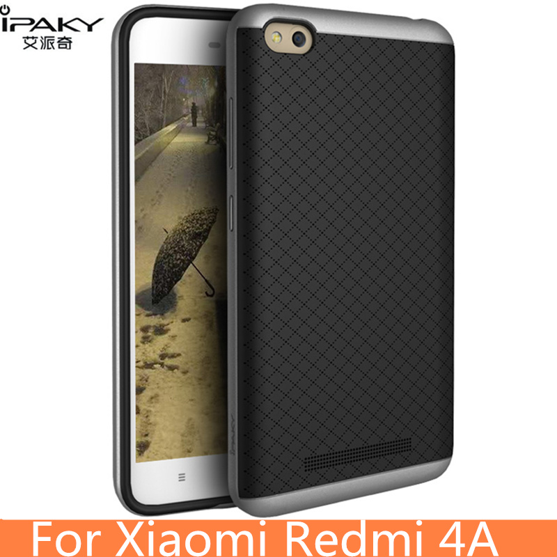 για Xiaomi Redmi 4A Case Original iPaky Brand Silicone PC Hybrid Protective Cover for Xiaomi Redmi 4A Case Cover Fundas