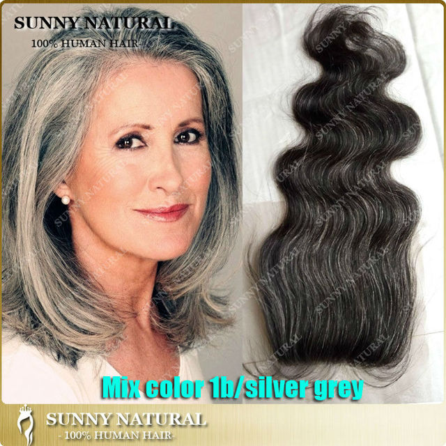 Brazilian hair lace closure mix 1bgrey hair top closure with baby brazilian hair lace closure mix 1bgrey hair top closure with baby hair body wave pmusecretfo Images