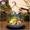 Кукольный Дом Diy миниатюрный Деревянный Кукольный Домик miniaturas Мебель Кукольный Дом Игрушки Для Детей Подарок На День Рождения MG009