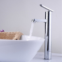 Высокое Качество горячей и холодной воды на бортике высокий ванной бассейна кран, banheiro torneira KF35