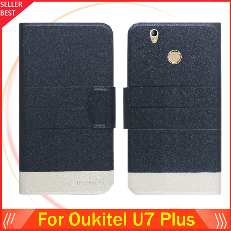 5 Warna Super! Oukitel U7 Plus Telepon Kasus Kulit Penutup Telepon - Aksesori dan suku cadang ponsel - Foto 2