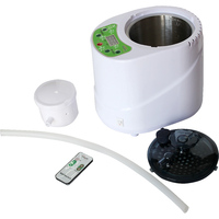 Sauna Steamer Generator Bubble Bath Water Heating Wet Steam Heating Machine 2 0L Remote Control 220v