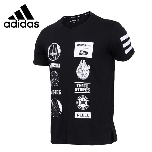 Original New Arrival 2018 Adidas NEO Label SW TEE 4 Men's T-shirts short sleeve Sportswear