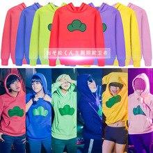 Anime Osomatsu san sweat à capuche de Cosplay Sweatshirts vestes hommes femmes unisexe Karamatsu t shirts Osomatsu san Halloween Cosplay Costume