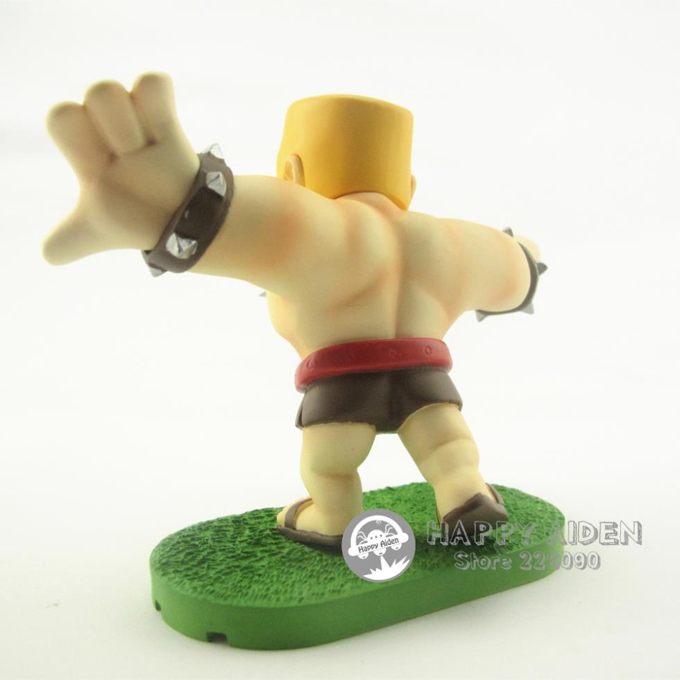 Clash Of Clans Action Figure Barbarian Warrior 5 11 Coc Toy Mobile Game Character Box Pack Free Shipping Toy Football Games Toy Globetoy Rabbit Aliexpress