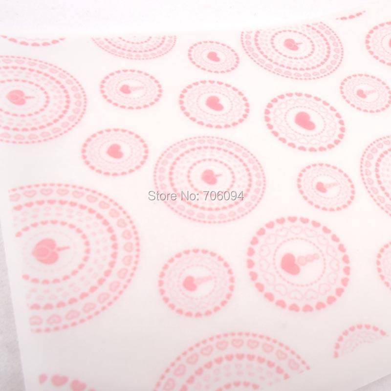 ᗗ15x21 cm y 21x29 cm tamaño papel Corazón patrón hecho a mano ...
