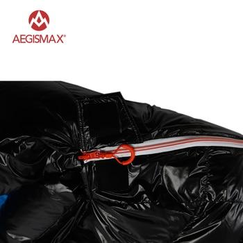 AEGISMAX White Goose Down Sleeping Bag Ultralight Baffle FP800 G1-G5 5