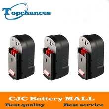 3PCS High Quality 2000mAh 18V NI-CD Replacement Power Tool Battery for Black & Decker HPB18 244760-00 A1718 A18