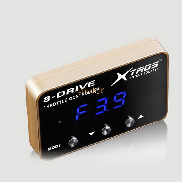 TROS Booster Potent sexta 8-Drive Controlador Electrónico Del Acelerador para Cadillac CTS SLS Chevrolet Camaro Buick Viejo LaCrosse GL8