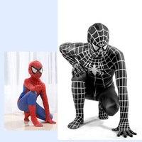 Spiderman Costumes Spider Adults Children Red Blue Black Man Suit Spider Man Costume Kids Spider Man