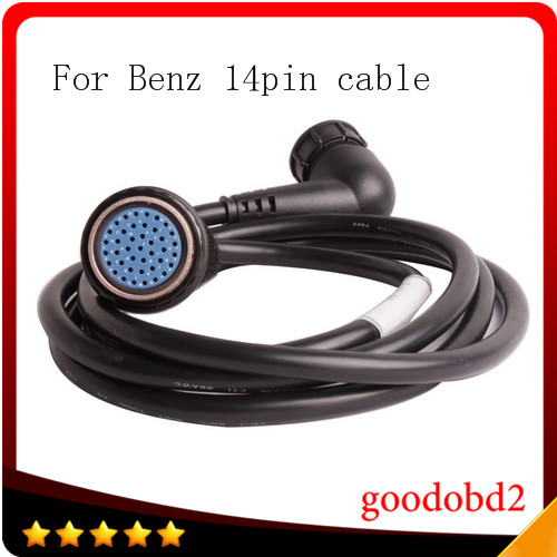Car cable For MB STAR C4 14 pin Cable only use for benz star c4 sd c4 14pin connect diagnostic tool cable sd connect cable