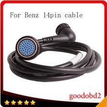 Автомобильный Кабель для MB STAR C4 14 контактный кабель использовать только benz star c4 sd c4 14pin подключения инструменту диагностики кабель sd соедини...
