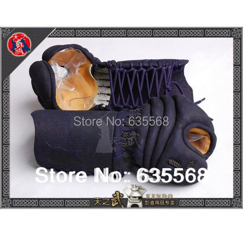 Top Quality Kendo Kote 2mm South Korea Cowhide Martial Arts Free Shipping цена и фото