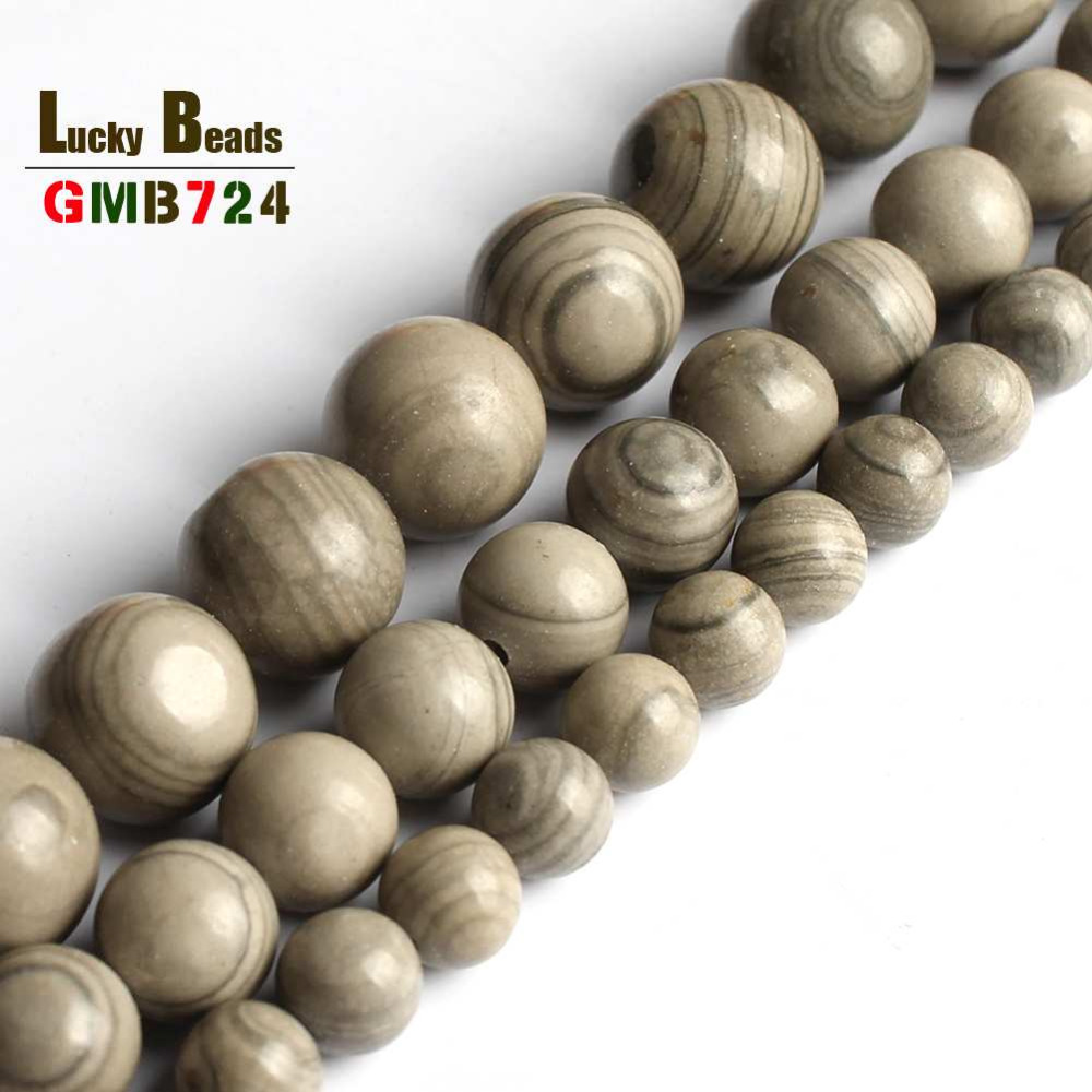 Serpeggiante Stone Loose Beads Jewelry Making Beads For Bracelet Natural Serpeg Giante Diy Bracelet Necklace Motivated 6/8/10 Mm