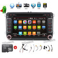 Car Multimedia Player 7 inch 2 din GPS Stereo Radio GPS para VW passat B6 B7/CC Tiguan  Radio doulde din android car dvd player