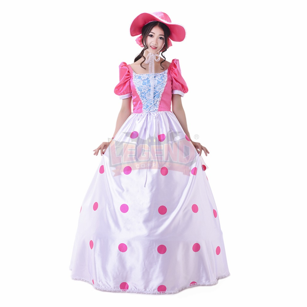 Cosplaylegend Woody s girlfriend Toy Story Bo peep Cosplay adult costume  Pink Dress custom made -in Movie   TV costumes from Novelty   Special Use  on ... a5a1ee8f5ad
