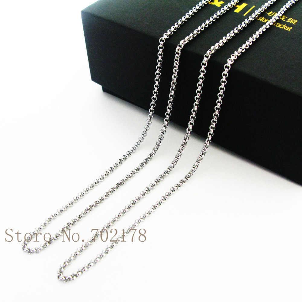Yeni stiller paslanmaz çelik kolye zinciri ile kaliteli fit yüzer locket kolye DIY olarak noel hediyesi