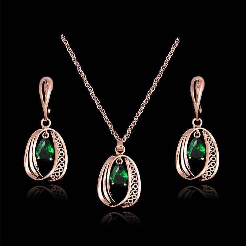 Online Shop Atreus 2018 Hot Design Necklace Earrings Shiny ...