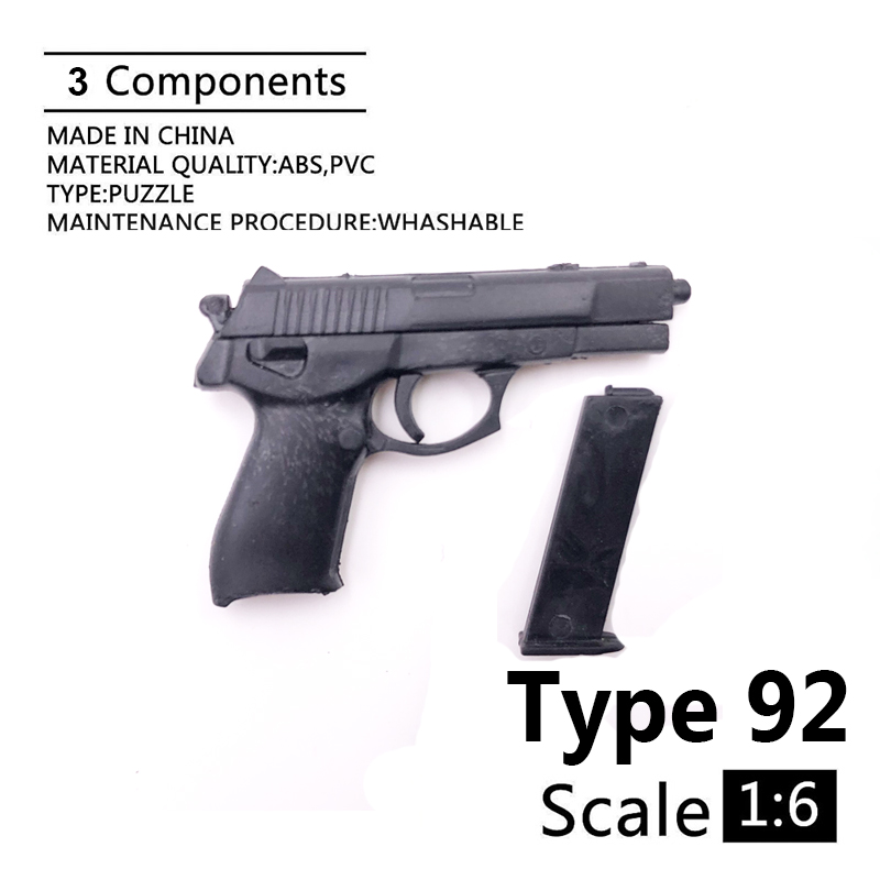 1:6 Type 92 4D Gun Model For 12