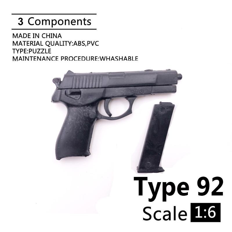 1:6 Type 92 4D Gun Model For 12