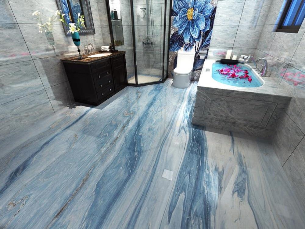 Koop 3d vloeren behang interieur marmeren vloertegel foto muurschildering behang - Marmeren vloeren ...