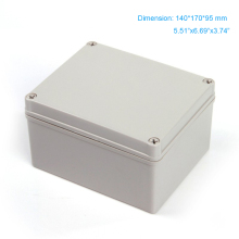 2015 hot sale ip66 abs waterproof  plastic box for electronic project 140*170*95mm