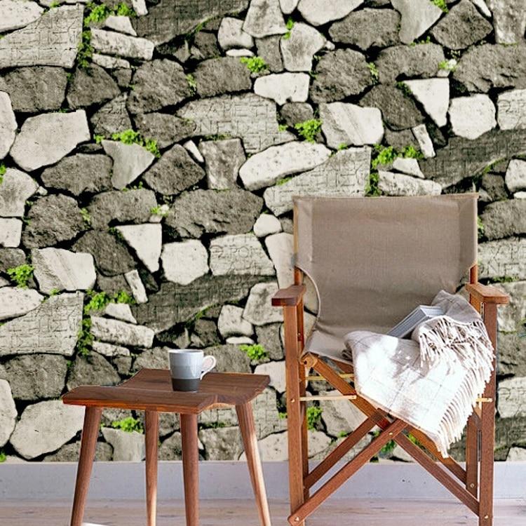 professional design wholesale 3d stone wallpaper modern stone effect wallpaper for wall. Black Bedroom Furniture Sets. Home Design Ideas