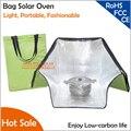 Обновленный светильник, портативная модная сумка на плечо, солнечная печь, Экологически чистая, должна мешать солнечную печь для подогрева пищи - фото