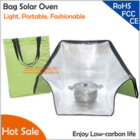 Upgrading Light Portable Fashionable Shoulder Bag Solar Oven , Environmentally friendly should bag solar oven for heating food
