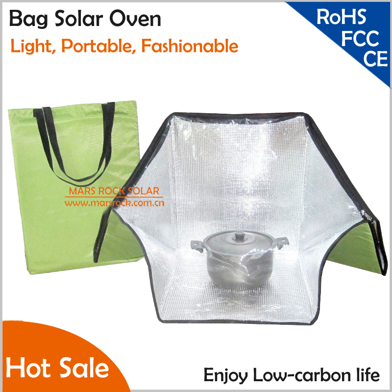 Upgrading Light Portable Fashionable Shoulder Bag Solar Oven , Environmentally friendly should bag solar oven for heating food green portable solar oven bag cooker sun outdoor camping travel emergency tool for cooking solar oven bag mayitr