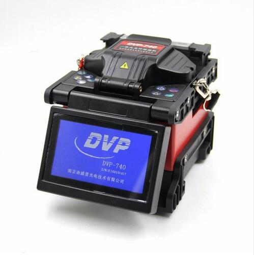 Fiber Optic Fusion Splicer DVP 740 equal to JILONG KL 300T Fiber Welding Machine with USB & DC interface