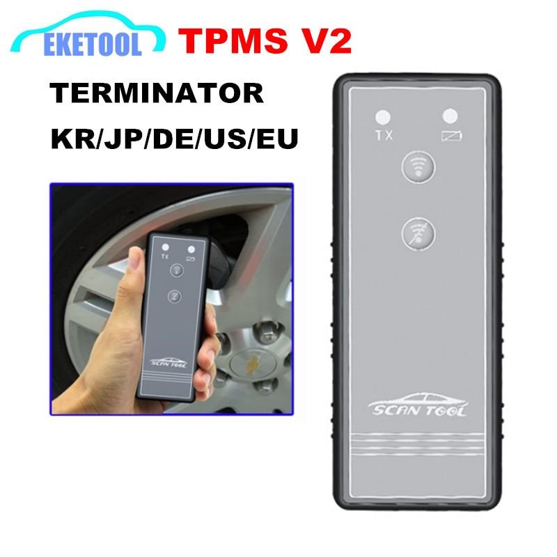 ST-TP Reset V2 Terminator 5 IN 1 Works KR/JP/DE/US/EU Supports 12/2017 TPMS Auto Tire Pressure Monitor Sensor Activator Tool