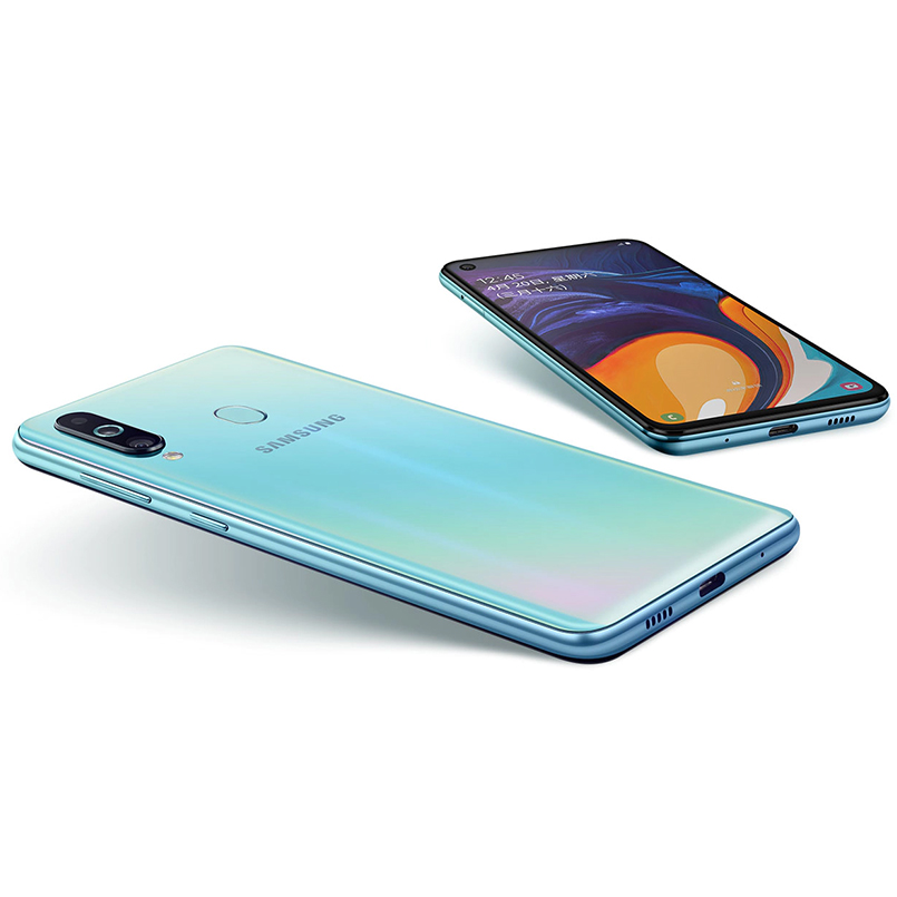 Samsung Galaxy A60 Smartphones 6.3 inch FHD+ Snapdragon 675 Octa Core 6GB 128GB Android 9.0 Triple rear camera NFC Mobile Phone-in Cellphones from Cellphones & Telecommunications    3