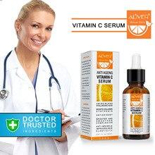 30 мл концентрат витамина С увлажняющая эссенция против морщин Горячая Распродажа VC отбеливающая эссенция для лица восстанавливающая Антивозрастная