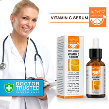 30 ml ויטמין C להתרכז לחות נגד קמטים מהות מכירה לוהטת VC פנים מהות הלבנת תיקון אנטי הזדקנות