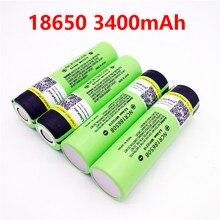 120pcs liitokala original NCR18650B 3.7V 3400 mah 18650 3400mah for Panasonic rechargeable lithium battery