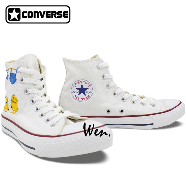 Custom Hand Painted Converse All Star Unisex Sneakers