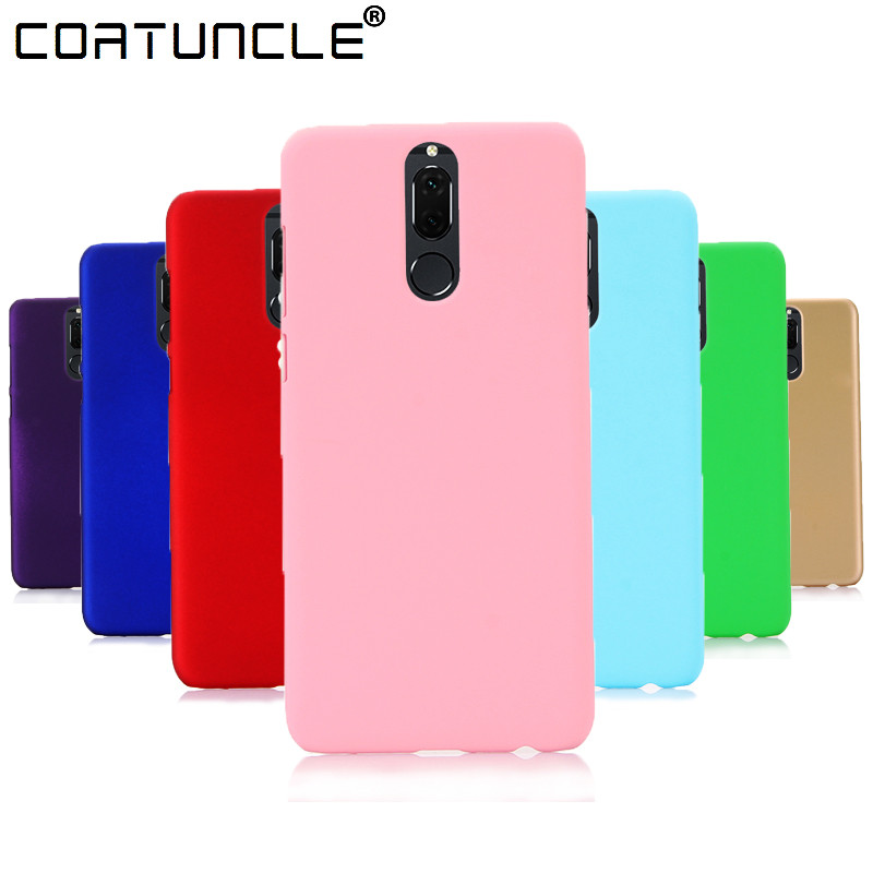 Phone Case Huawei Mate 10 Lite Case 360 Matte Hard plastic PC Candy Color Back Cover Huawei Mate 9 Cover Huawei Honor 9 Case plastic