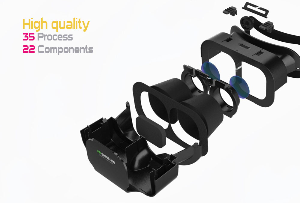 Vr Shinecon G05A 3D VR Glasses 8