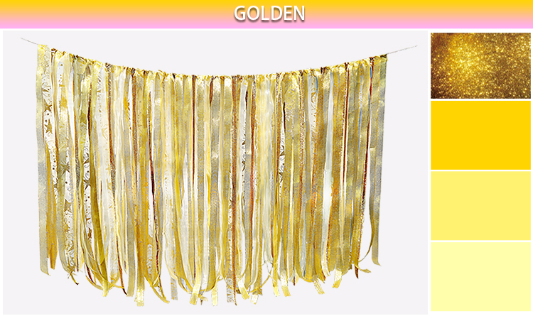 0.75M DIY pjenušava zlato srebro vrpca pozadina Vjenčanje rođendan - Za blagdane i zabave - Foto 5