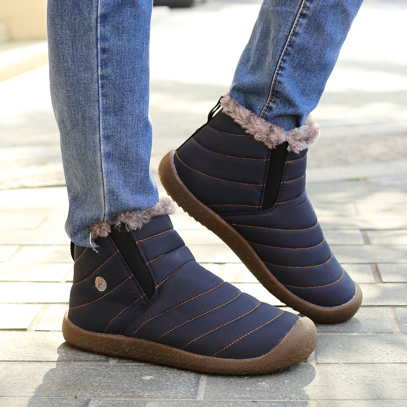 Plush Luxury Winter Warm Men Running Shoes Boots Sport Sneakers For Male Comfortable Outdoor Ladies Shoes Sports Big Size 35-48