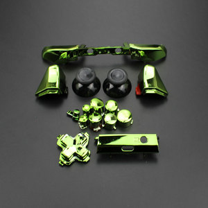 Image 5 - ChengHaoRan Full Set Solid RB LB Bumper RT LT Trigger Buttons Mod Kit For Microsoft Xbox One S Slim Controller Analog Stick Dpad